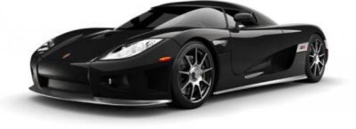 Koenigsegg CCX  black.