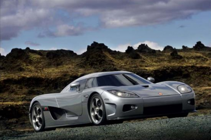 Koenigsegg CCX goes to Island