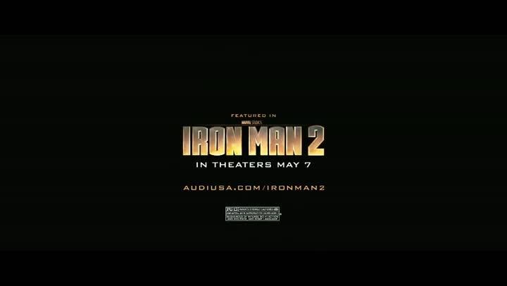 Iron Man 2 - Audi R8 V10 Spyder