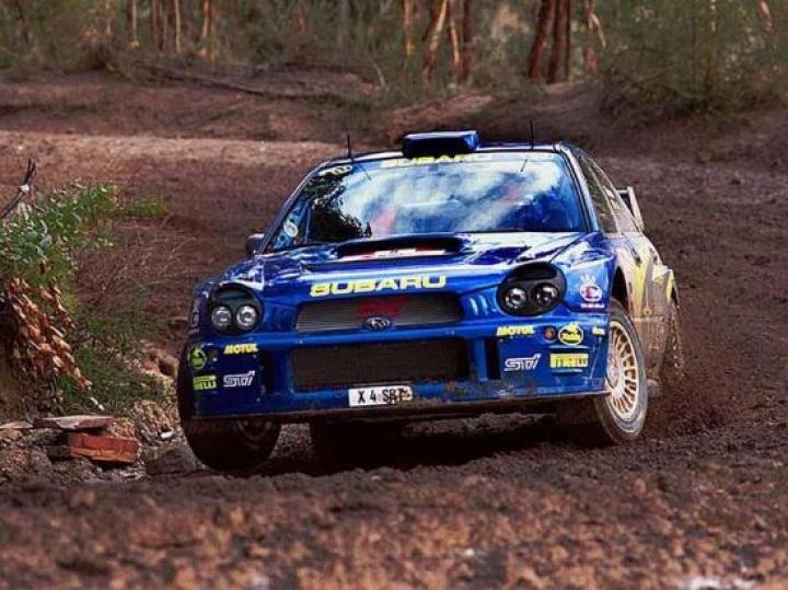 Subaru Impreza WRC Rallye